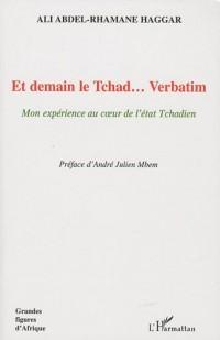 Et demain le Tchad... Verbatim