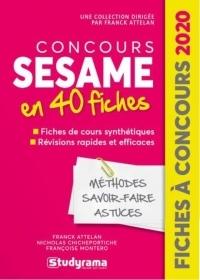 Concours Sesame en 40 Fiches
