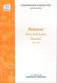 Bâtiment (Pays de la Loire) : Ouvriers