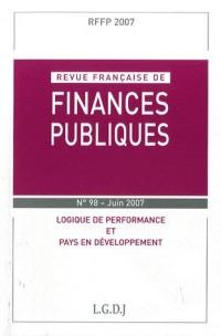 Revue Française de Finances Public Rffp