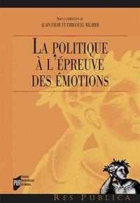 La politique à l'épreuve des émotions