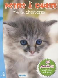 Les chatons : Posters à colorier
