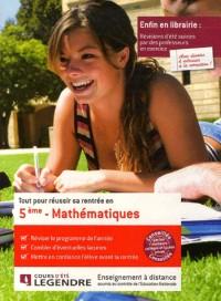 Tout pour réussir sa rentrée en Mathématiques 5e
