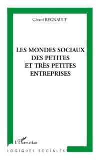 Mondes Sociaux des Petites et Tres Petites Entreprises