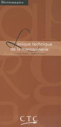 Lexique technique de la maroquinerie : Français-anglais/anglais-français