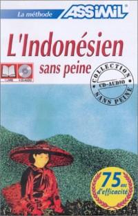 L'Indonésien sans peine (1 livre + coffret de 4 CD)