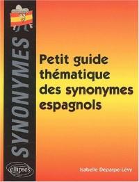Petit guide thématique des synonymes espagnols