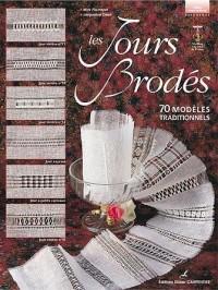 Les Jours brodés : 70 modèles traditionnels