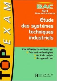 Etude des systèmes techniques et industriels, STI Génie électronique