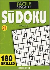 Sudoku : Tome 1, Facile Niveau 1