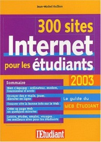 300 sites internet pour les étudiants