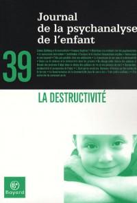 Journal de la psychanalyse de l'enfant, N° 39 : La destructivité