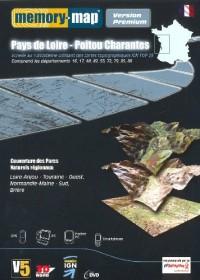 Pays Loire Poitou Charentes Mm Premium Ign Top 25