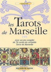 Les Tarots de Marseille : Avec un jeu complet de 78 cartes du véritable Tarot de Marseille (1Jeu)