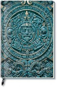 Alpha Edition - Carnet de notes vierge - Calendrier aztèque (Import Allemagne)