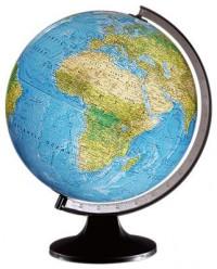 Globo terráqueo esfera de 25cm cartografía físico/política