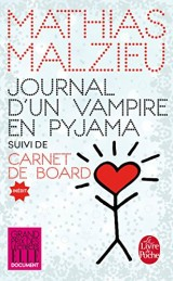 Journal d'un vampire en pyjama + Carnet de board [Poche]