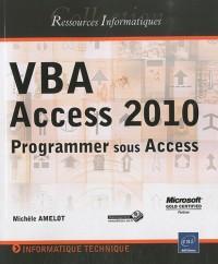 VBA Access 2010 - Programmer sous Access