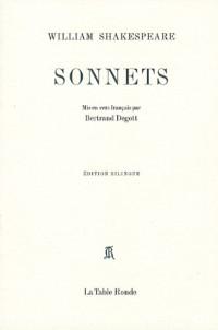 Sonnets : Edition bilingue anglais-français