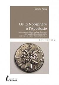De la Noosphère à l'Apostasie