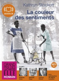 La couleur des sentiments: Livre audio 2 CD MP3 - 646 Mo + 582 Mo (op)