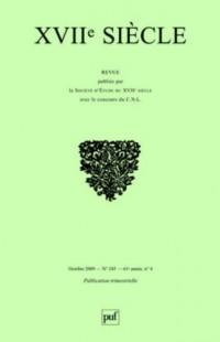 XVIIe siècle, N° 245 : Ut pictura poesis : poésie et peinture au XVIIe siècle