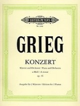 Grieg - Konzert - Opus 16 - Piano and Orchestra - A minor