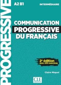 Communication progressive du français - Niveau intermédiaire - Livre + CD - 2ème édition - Nouvelle couverture