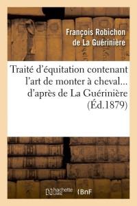 Traite d Equitation  ed 1879