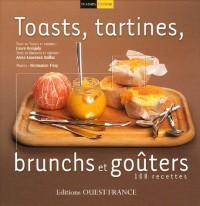 Toasts, tartines, brunchs et goûters