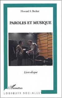 Paroles et musique (1CD audio)