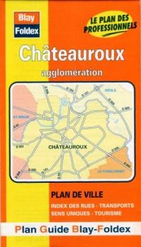 Plan de ville : Châteauroux (avec un index)