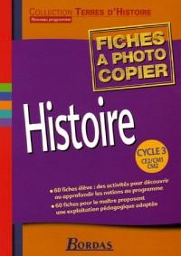 Histoire Cycle 3 : Fiches à photocopier