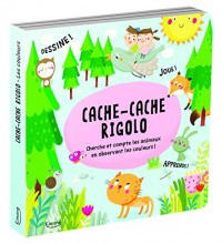 Cache-cache rigolo : Cherche et compte les animaux en observant les couleurs !