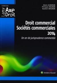 Droit commercial - Sociétés commerciales 2014: Un an de jurisprudence commentée.