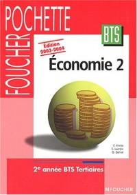 Economie 2 : BTS Tertiaires, 2e année