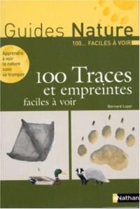 100 traces et empreintes