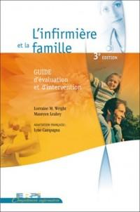Infirmiere et la Famille (l') 3e Edition