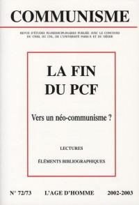 La fin du PCF