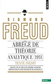 Abrégé de théorie analytique (1931) Texte inédit