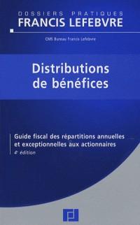 Distributions de bénéfices : Guide fiscal des répartitions annuelles et exceptionnelles aux actionnaires