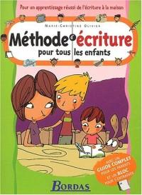 METHODE D' ECRITURE CP/CE    (Ancienne Edition)