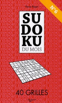 Sudoku du mois N° 6 : 40 Grilles