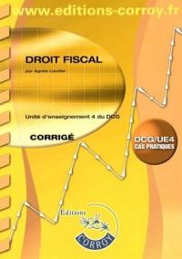 Droit fiscal UE 4 du DCG : Corrigé