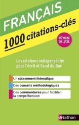 Le Français en 1000 citations-clés