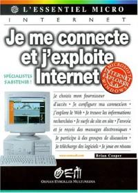 Je me connecte et explore Internet