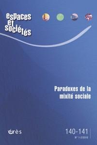 Espaces et sociétés 140/141- paradoxe