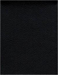 La Bible Parole de vie : Ancien et Nouveau Testament, reliure semi-rigide, couverture cuir véritable, tranches or, glissière
