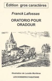 Oratorio pour oradour