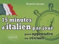 15 minutes d'italien par jour pour apprendre ou réviser